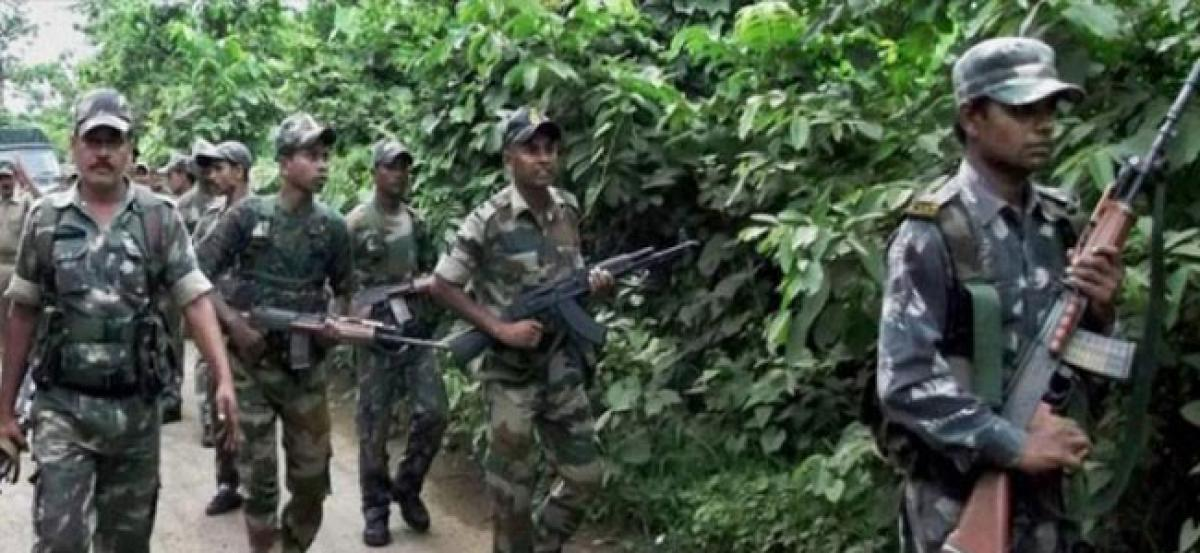 Two BSF jawans killed in encounter with Naxals in Chhattisgarh