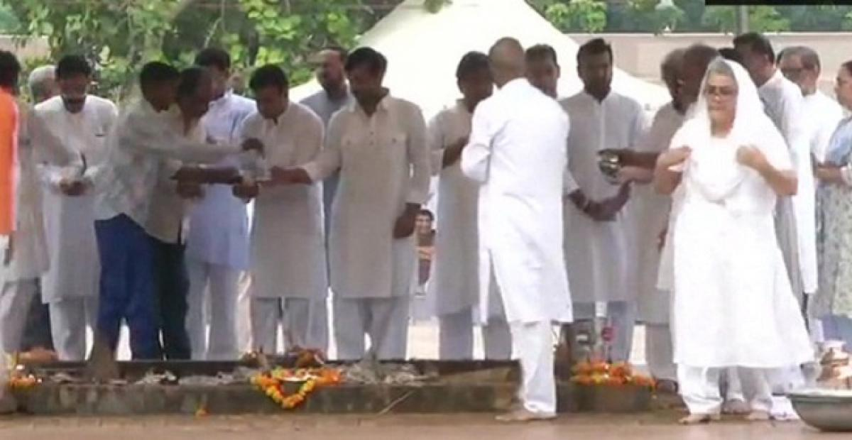 Vajpayees ashes to be immersed in Haridwar today