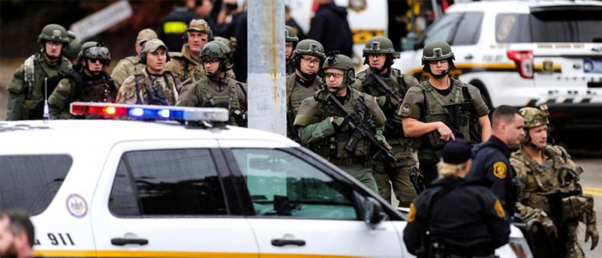 11 killed in Pittsburgh shooting in one of 'deadliest' attack on Jews in US