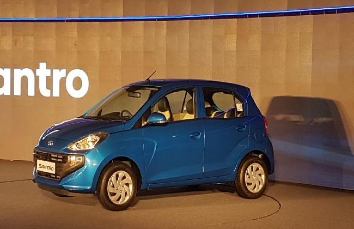 New Hyundai Santro Launched At Rs 3.89 Lakh