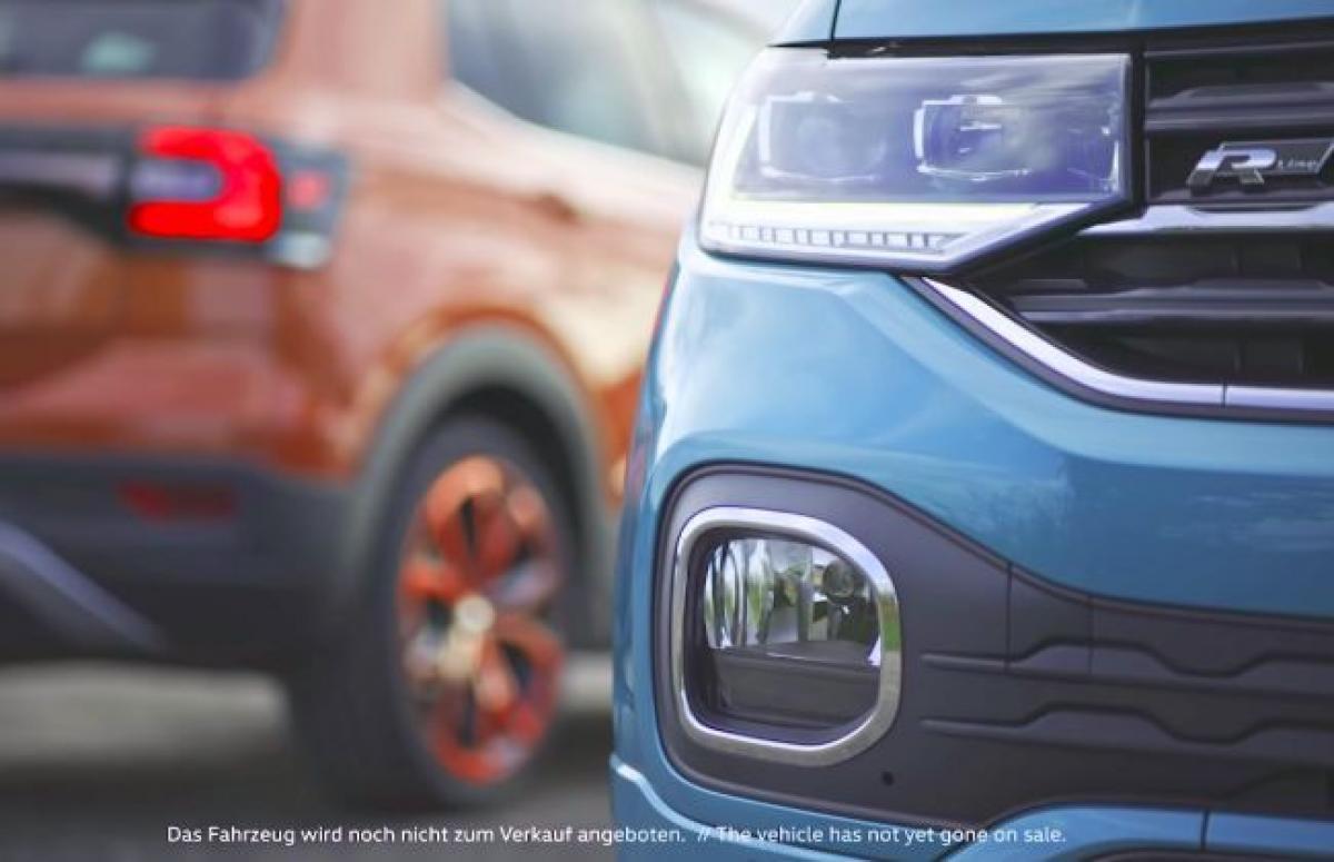 Volkswagen T-Cross Teased Again, Debut Tomorrow