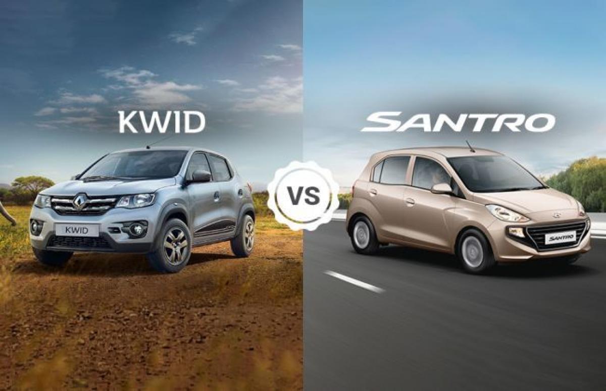 Clash Of Segments: Renault Kwid vs Hyundai Santro- Which Car To Buy?