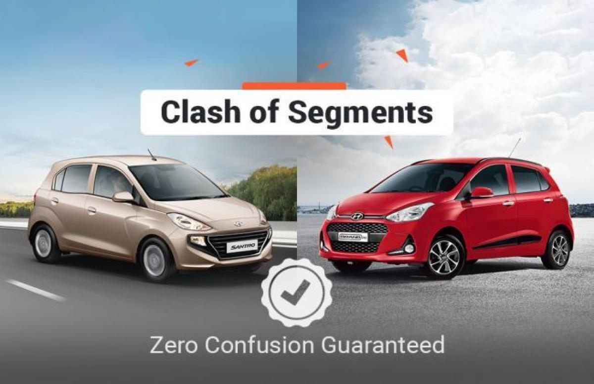 Clash Of Segments: Hyundai Santro vs Hyundai Grand i10 - Which Car To Buy?