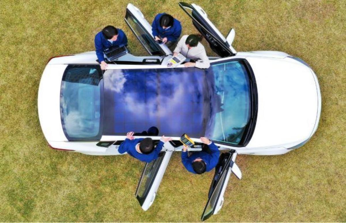 Hyundai-Kia Hybrid Cars To Get Solar Roof Charging In 2019