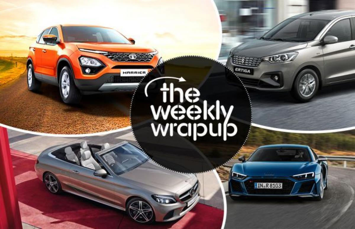 Weekly Wrap-up: Tata Harrier New Details Emerge, Hyundai Santro To Get Alloys, And More