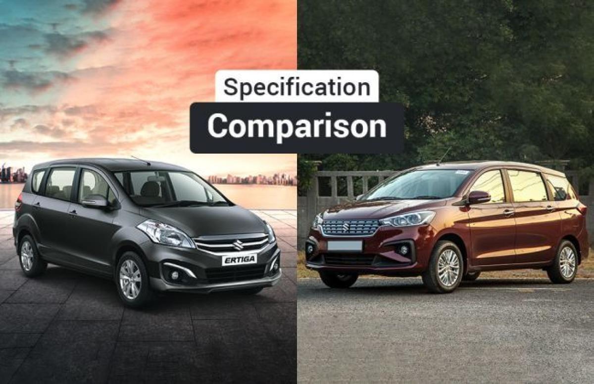 Maruti Suzuki Ertiga Old vs New - Which One Offers More Space?