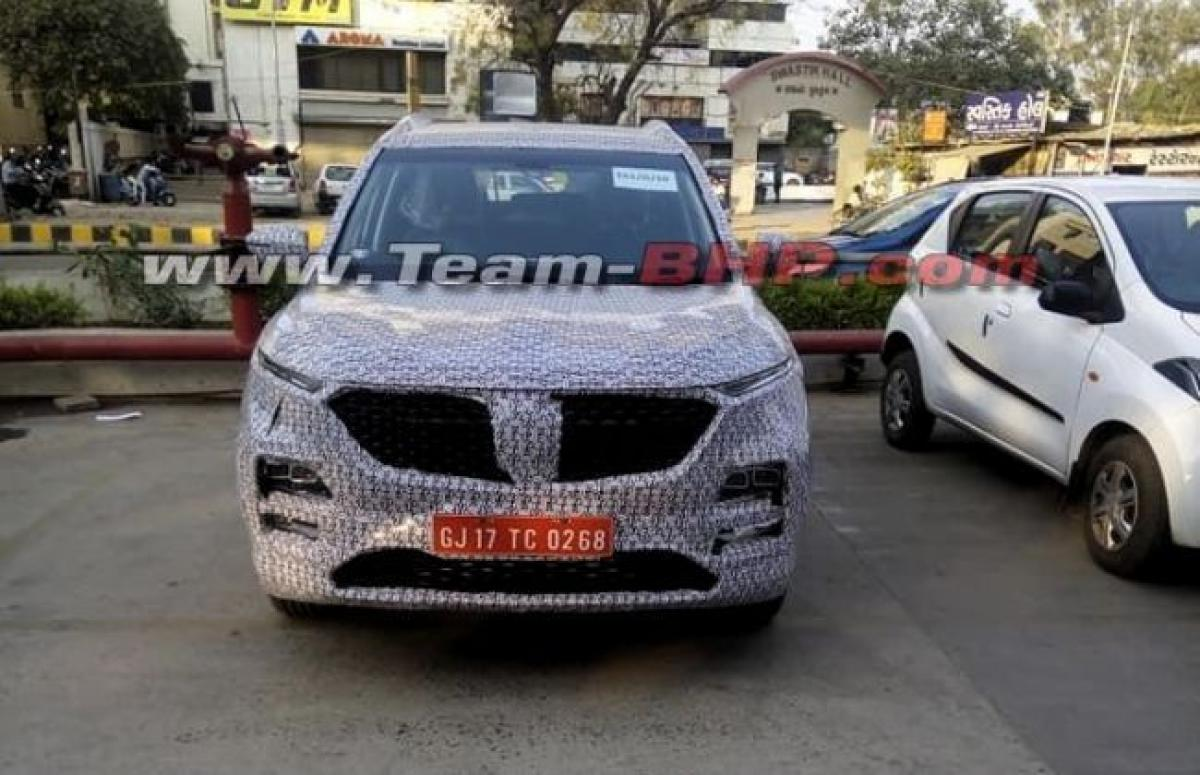 Baojun 530 (Tata Harrier Rival) Spied With An MG Grille