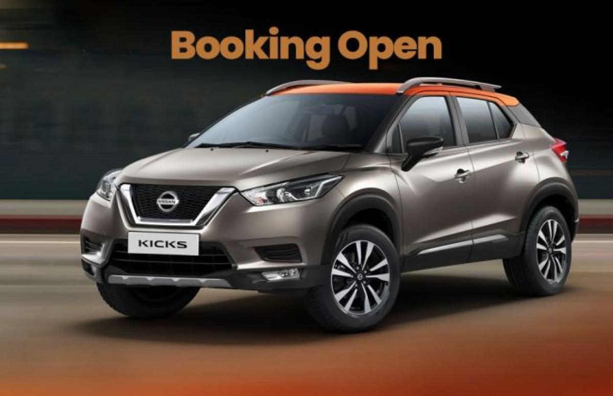 Nissan Kicks Bookings Open; Launch In January 2019