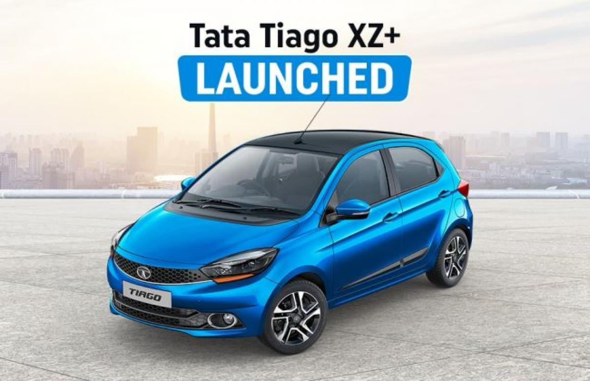 Tata Tiago XZ+ Launched; Prices Start At Rs 5.57 Lakh