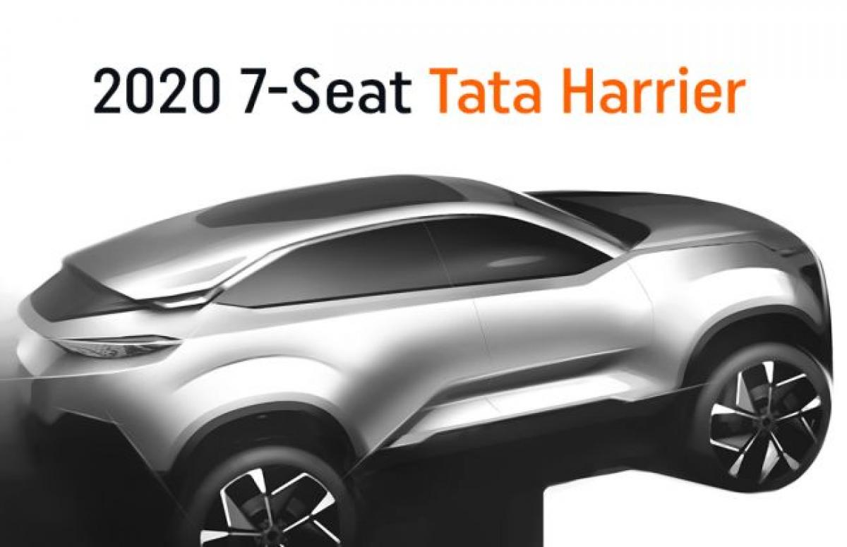 7-Seat Tata Harrier Confirmed; To Launch In 2020