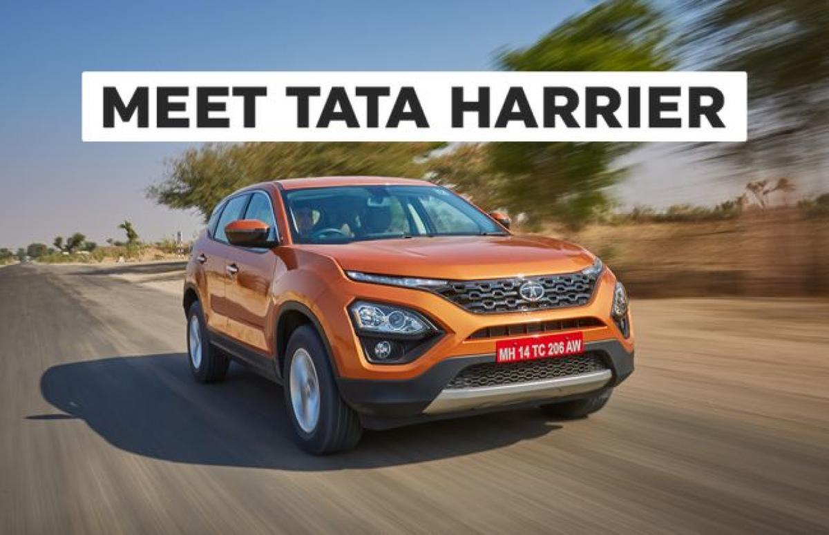 Tata Harrier To Be On Display In Delhi, Mumbai & 9 Other Cities