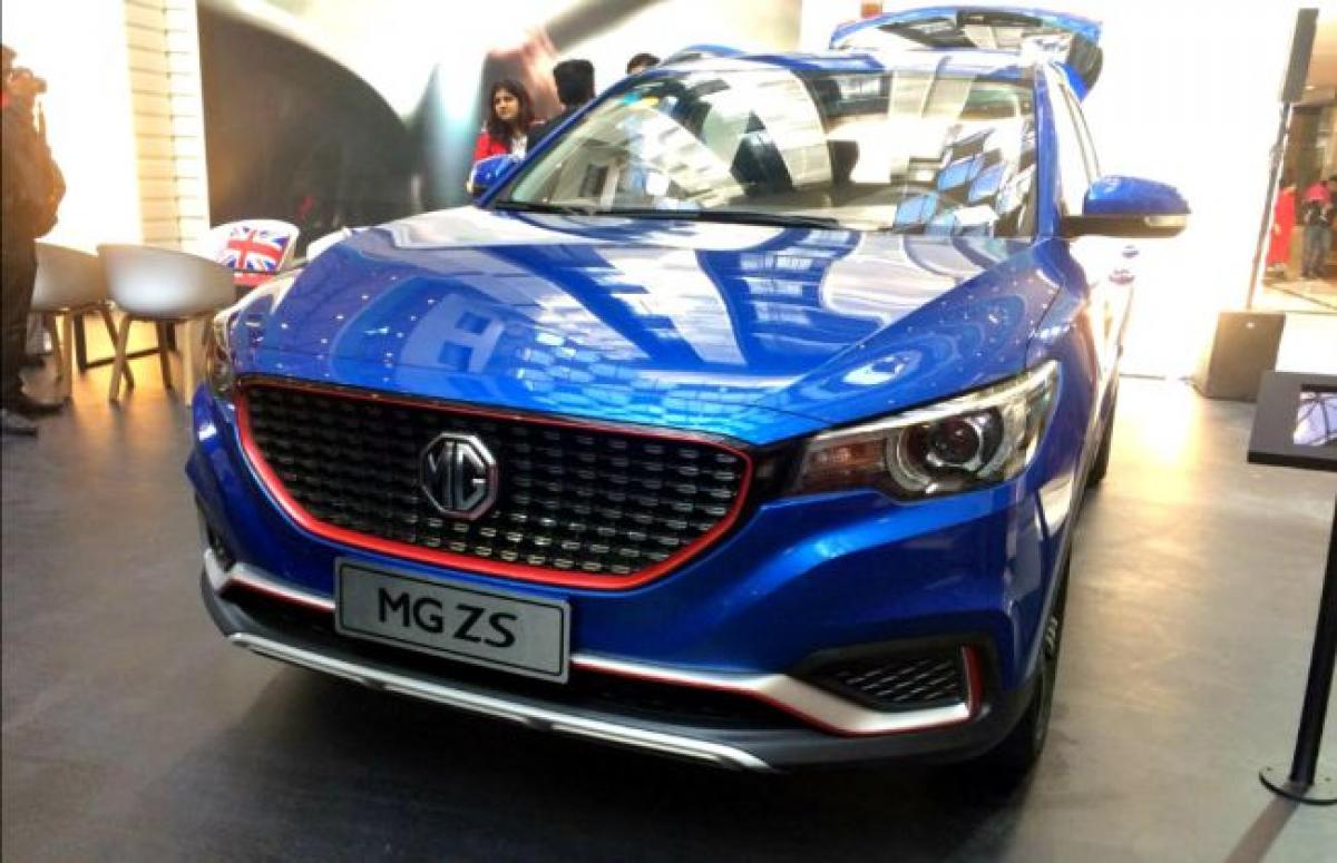 MG 3, RX5, ZS, HS Cars & SUVs Showcased In India