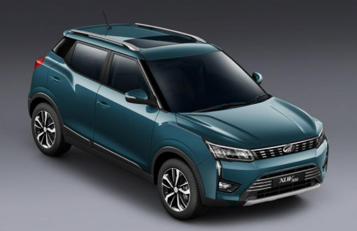 Mahindra XUV300 Electric In The Works; Launch Expected In 2020