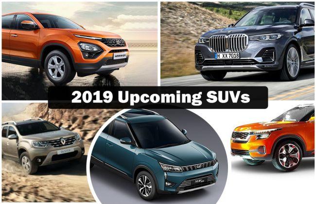 Upcoming SUVs In 2019: Tata Harrier, Renault Duster, Nissan Kicks, Mahindra XUV300 & More Cars