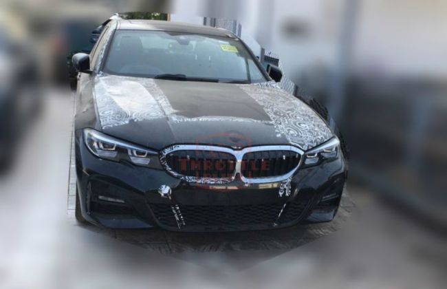 New-gen BMW 3 Series Spotted In India; 2019 Launch On Cards