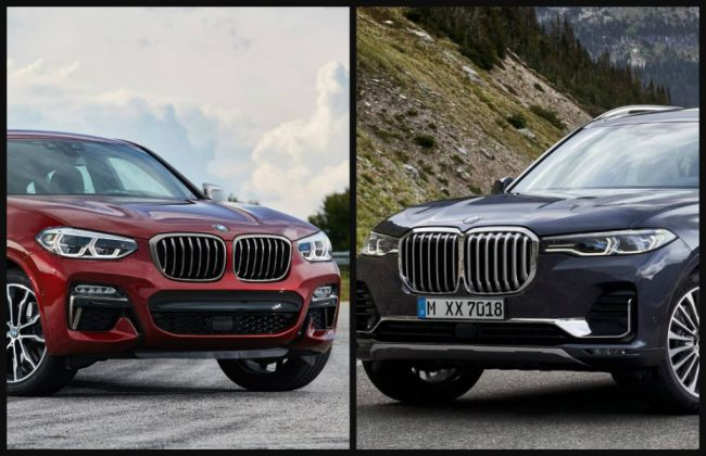 Upcoming BMW X7, X4 To Be Locally Built In India; Launch In 2019