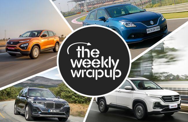 Weekly Wrap-up: New Maruti Wagon R 2019 Brochure Leaked, Mahindra XUV300 Interior Spied & More