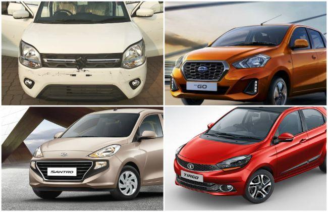 New Maruti Suzuki Wagon R 2019 vs Santro vs Tiago vs GO vs Celerio: Spec Comparison