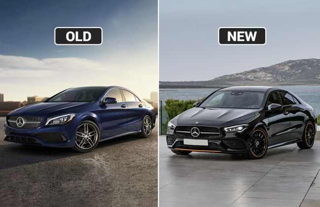 Mercedes-Benz CLA Coupe: New vs Old - Major Differences