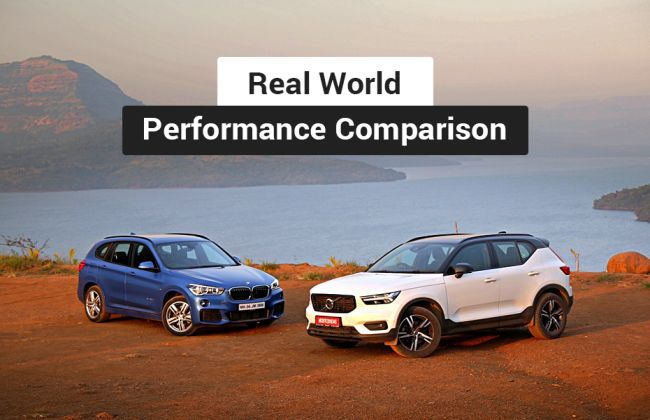 Volvo XC40 vs BMW X1: Real World Performance Comparison