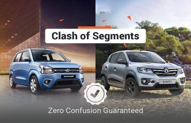 New Maruti Wagon R 2019 vs Renault Kwid: Clash Of Segments