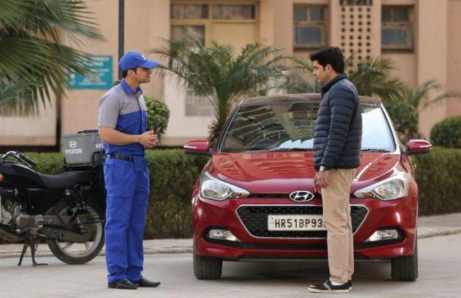 Hyundai Starts Doorstep Repair & Car Detailing Service