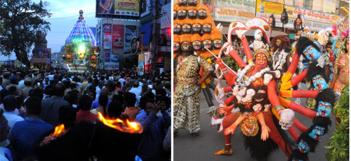 Rathotsavam held amidst fanfare