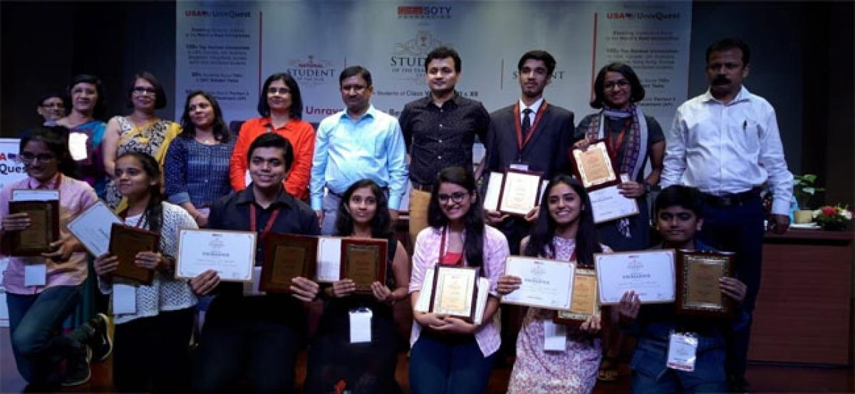 Future global leaders felicitated with 'Student of the Year' awards