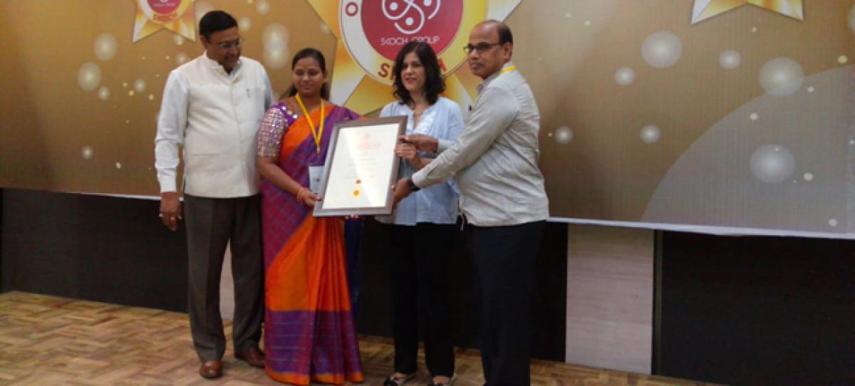 SKOCH award for Sircilla municipality