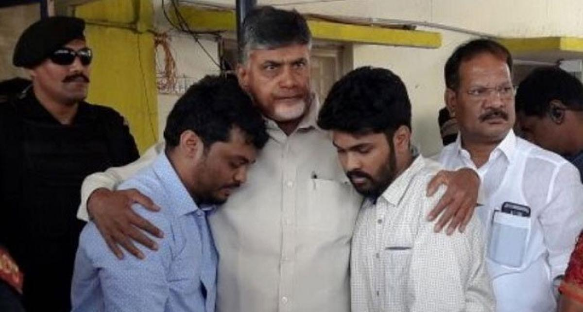Chandrababu To induct Kidari Son In His Cabinet?