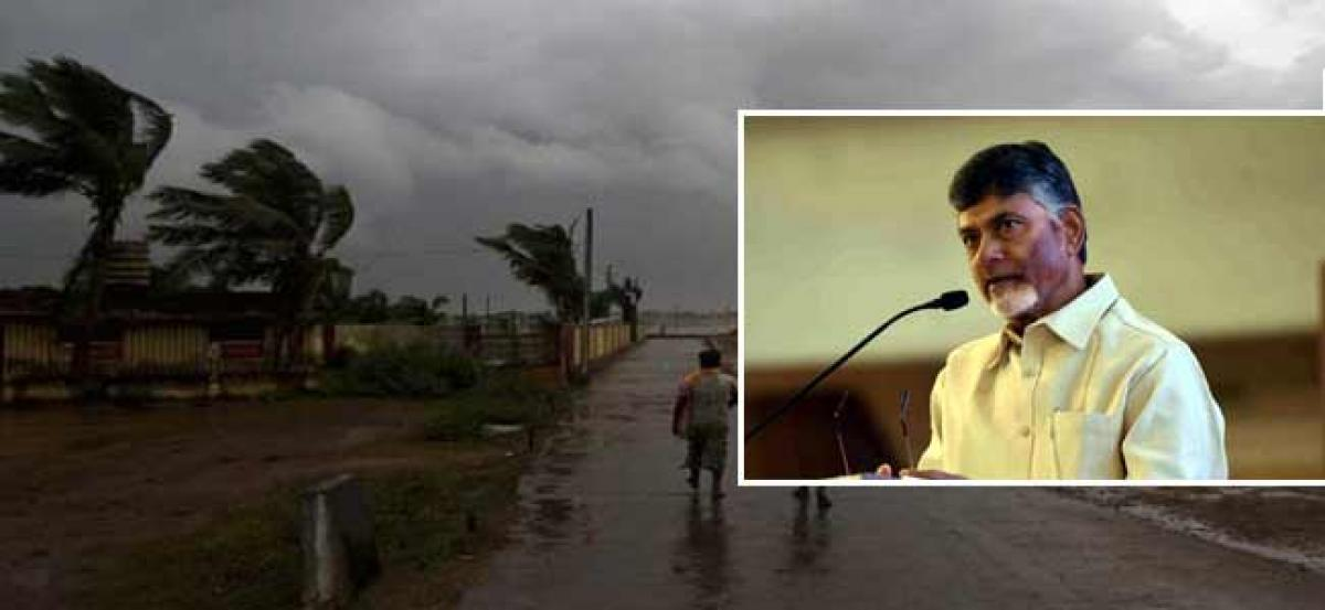 Two died due to cyclone -CM likely to visit Srikakulam