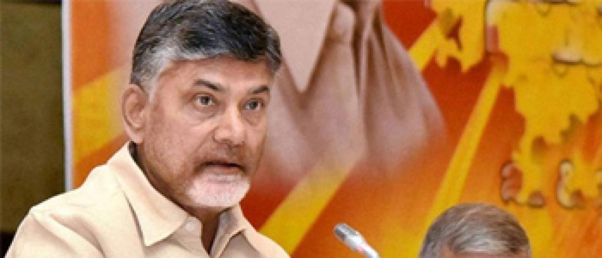 AP aims at highest living standards: Naidu