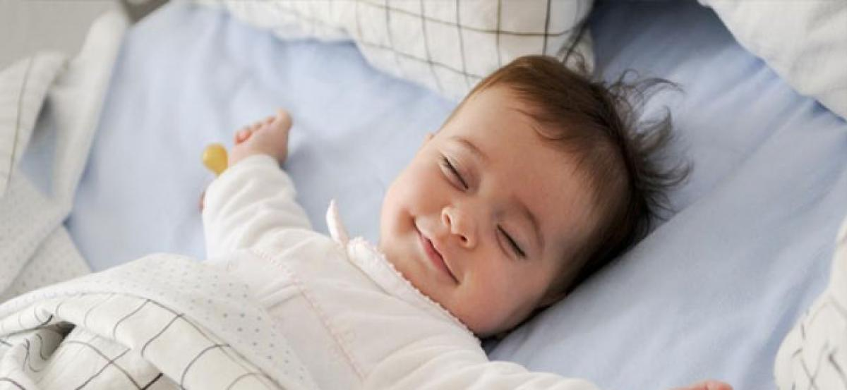 Babies who are introduced to solid foods earlier tend to sleep better