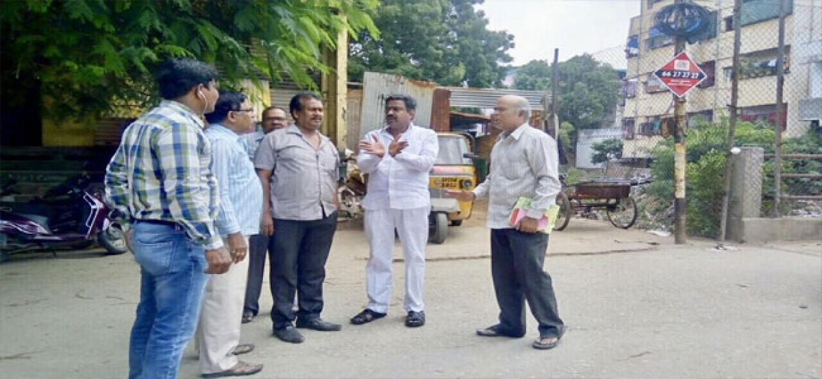 Roads in Balanagar division to be laid