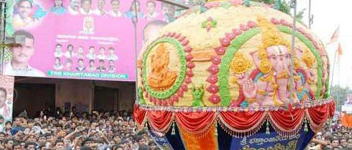 Do you know when Balapur laddu auction began?