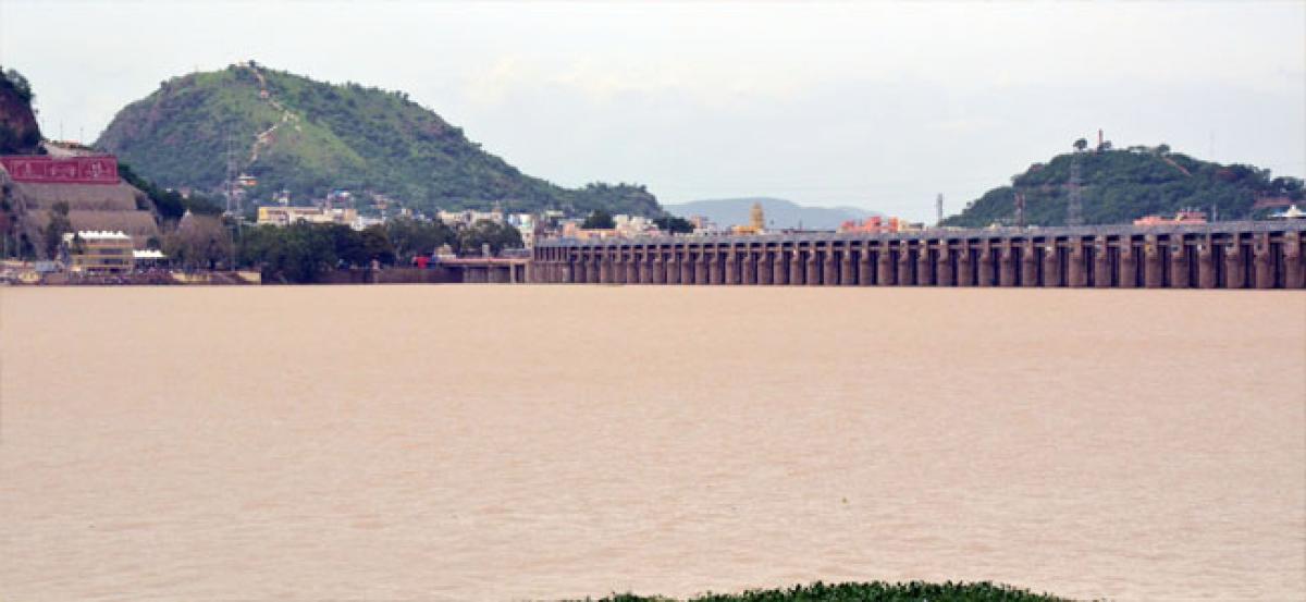 Prakasam Barrage reaches FRL
