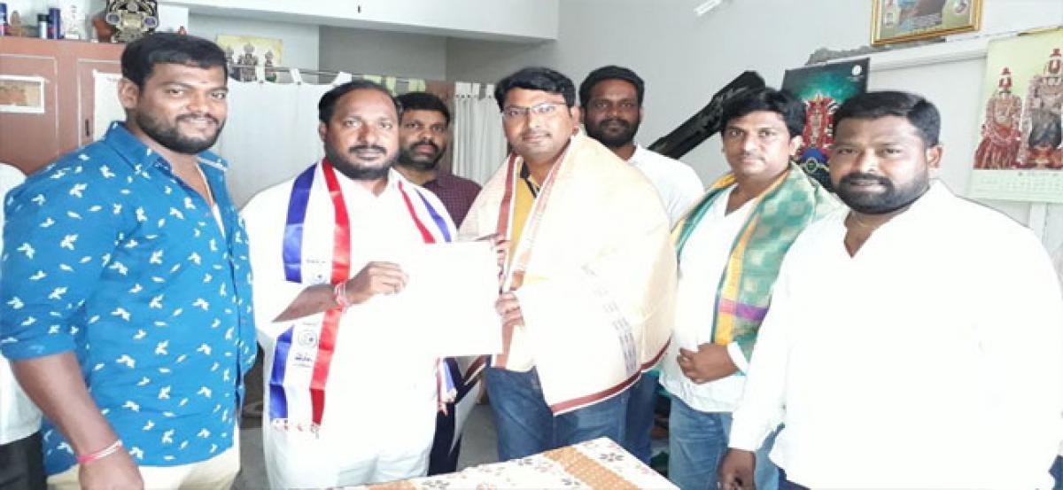 Srinivas appointed city TBCEWA vice president