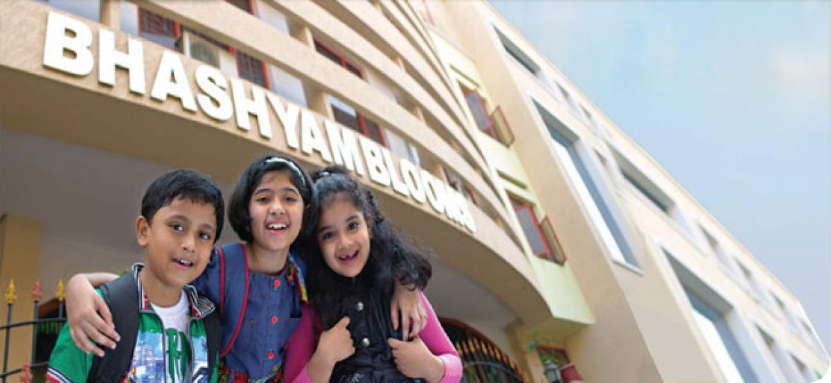Bhashyam Bloom students told to inculcate spirit of service