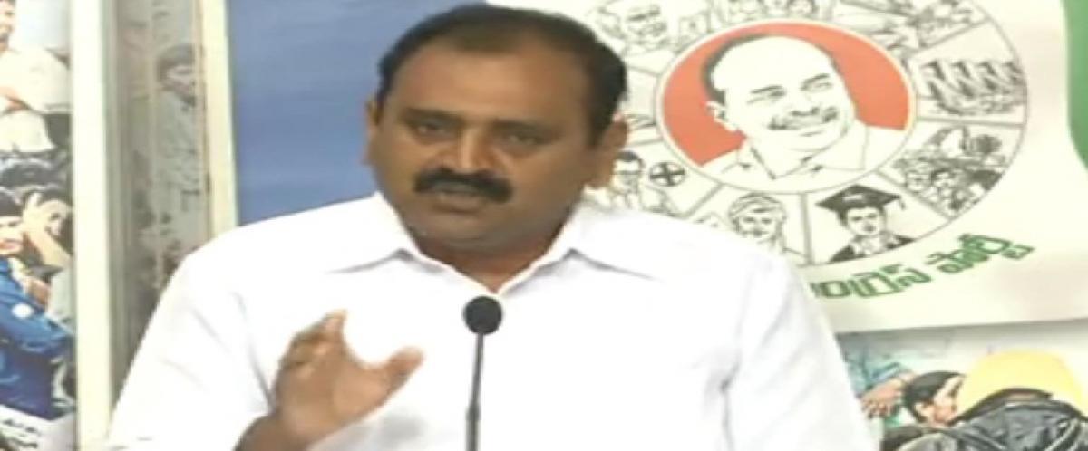 YSRCP leader Bhumana Karunakar Reddy slams TDP govt on not fulfilling poll promises