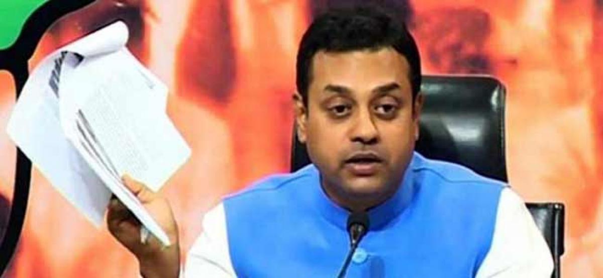 BJP slams Congress, calls Rahul Gandhi