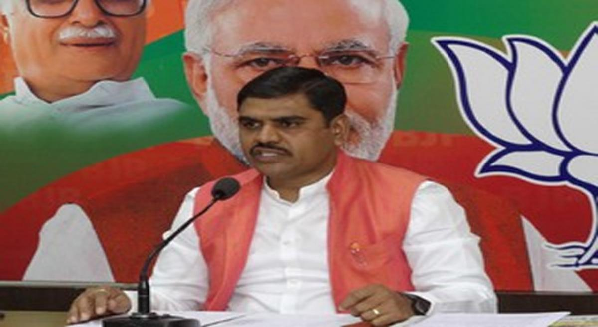 First shift to AP, then criticise Centre: BJP to MPs