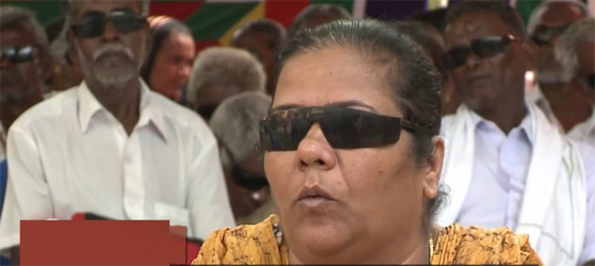 Aiming for blind-free India