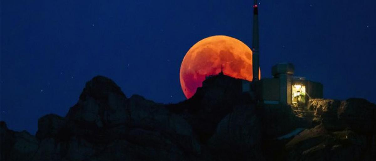 The planet has observed the longest lunar eclipse of the 21st century