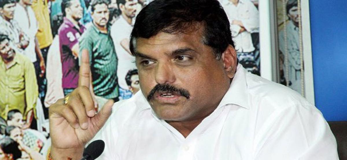 TDP Government is neck deep in corruption: Botsa Satyanarayana