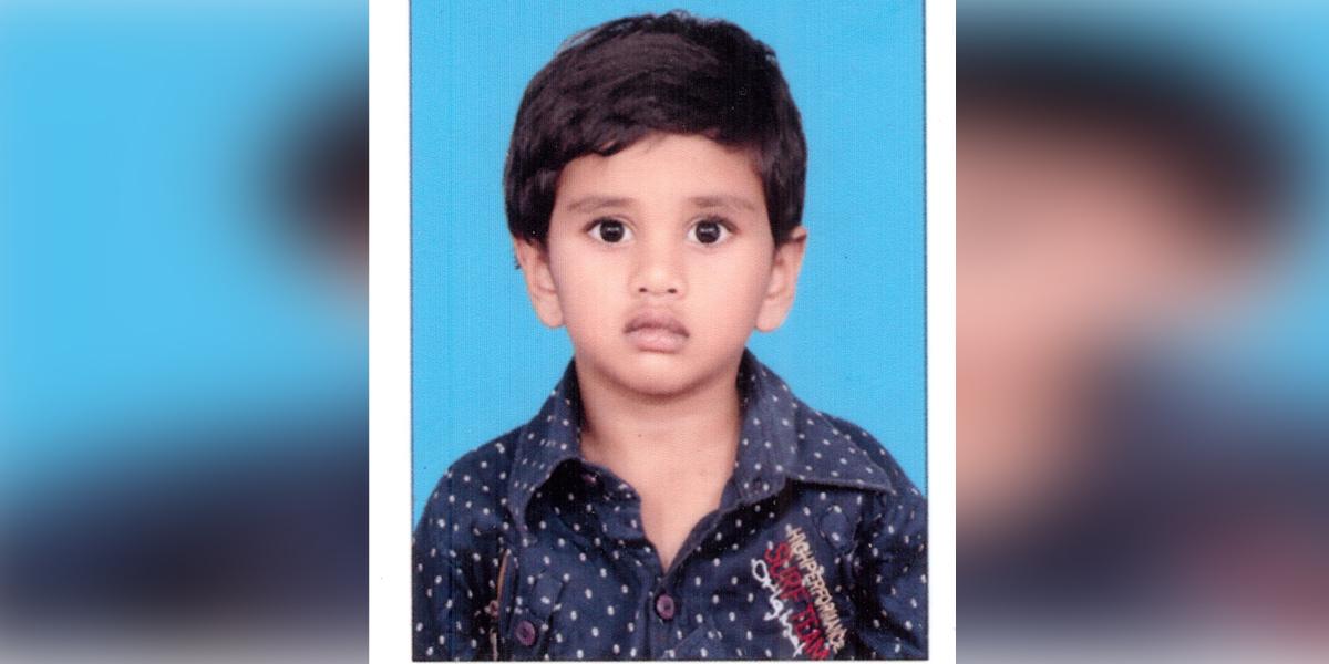 Eyes of 5-yr-old boy donated