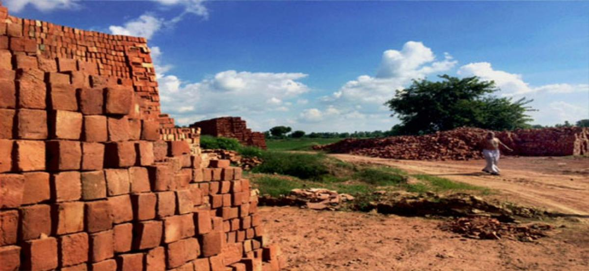 Farmers in distress fall prey to the lure of brick kiln owners, lease out fertile lands