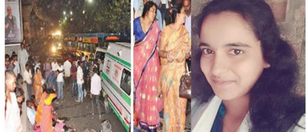 Bride to be dies in road accident in Hyderabad