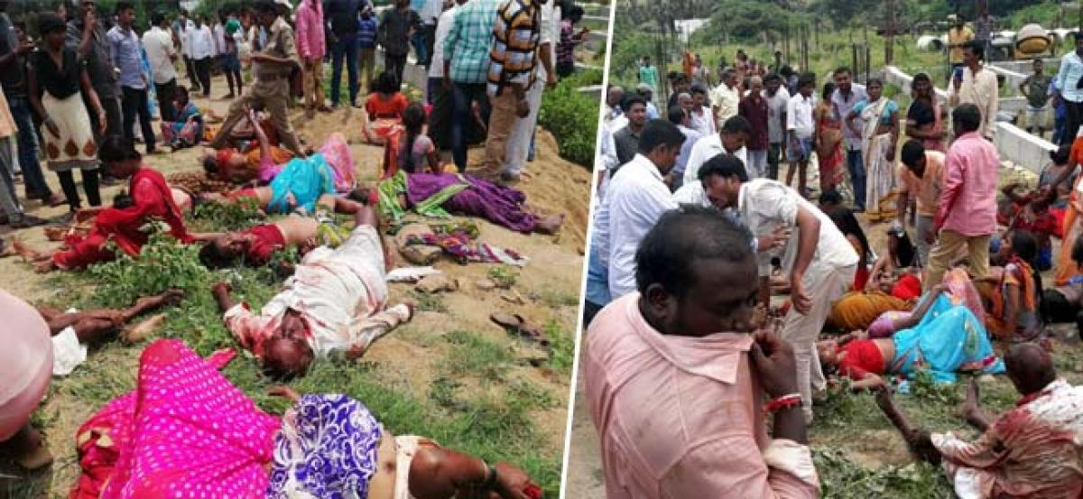 Over 32 dead as bus falls into gorge