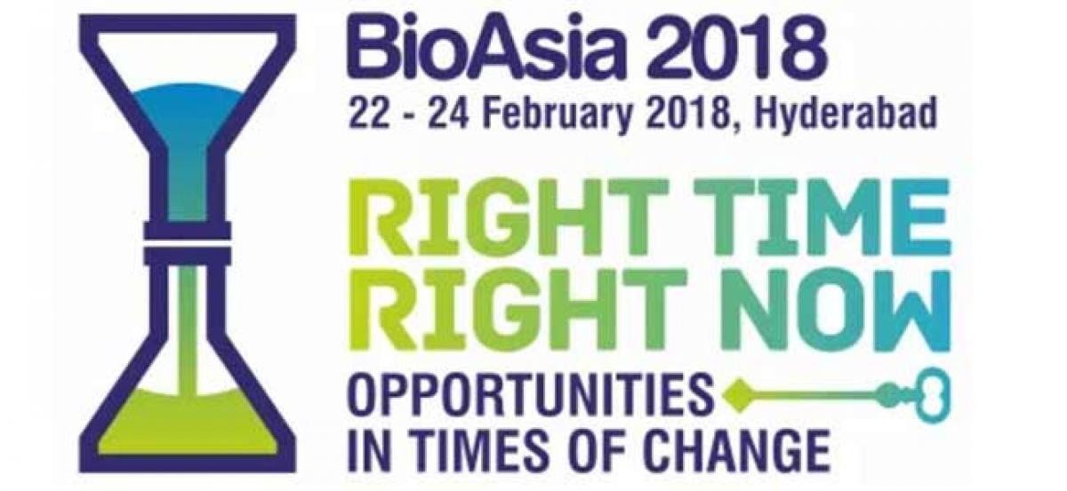 BioAsia-2018 to kickstart today