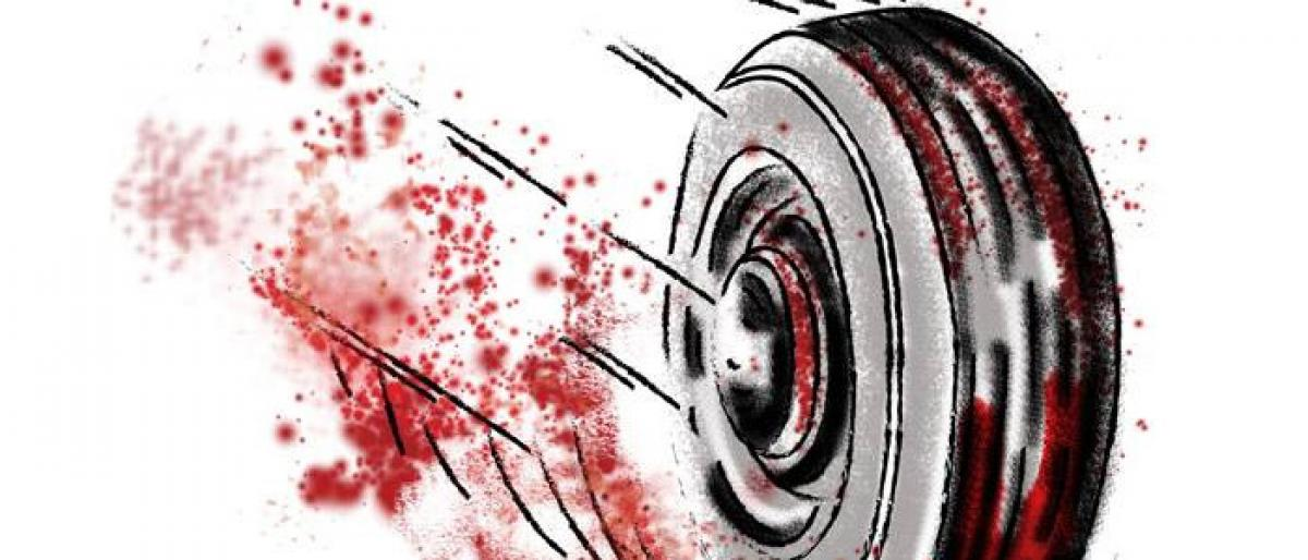 5-yr-old among six killed after vehicle rams into bus shelter in Nagarjuna Sagar